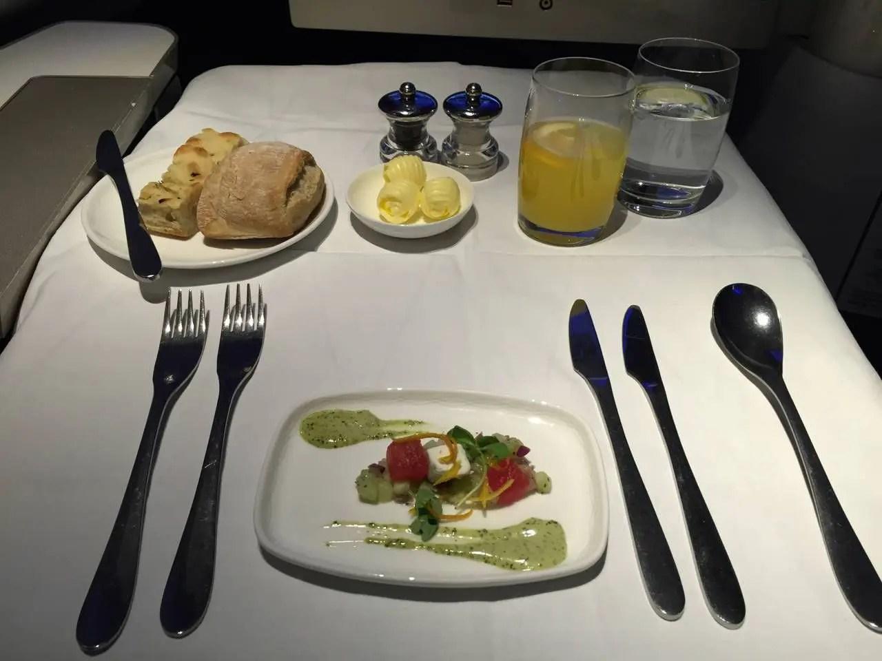 British Airways First Class B747 -024