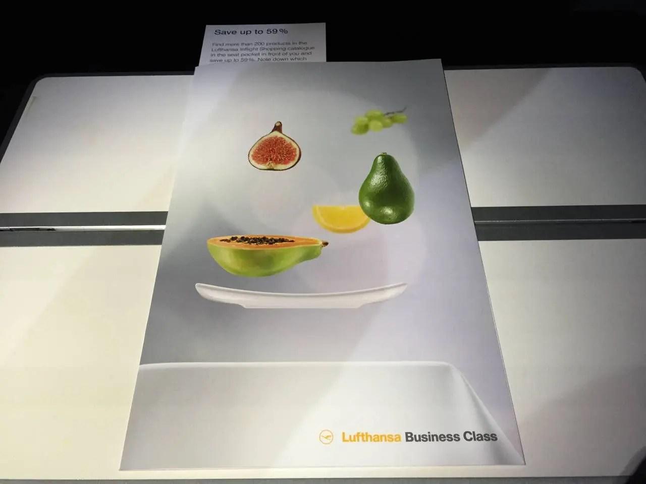 Lufthansa Business Class B747-8-023