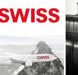 SWISS oferece nova tag de bagagem para imprimir em casa