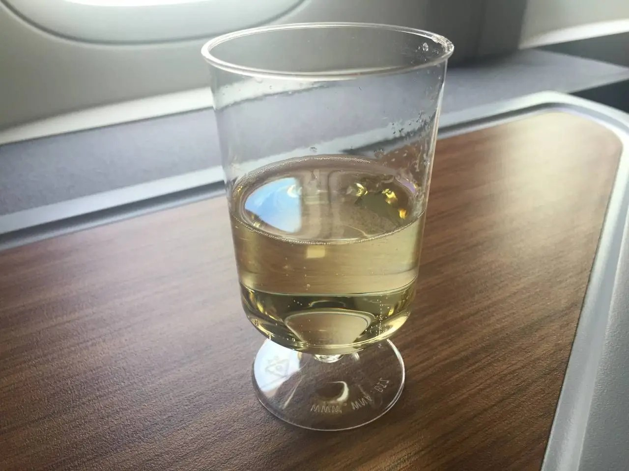AA Hong Kong Dallas Business Class- - 7