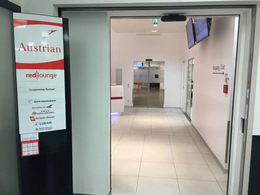 Austrian Senator Lounge Vienna - 11