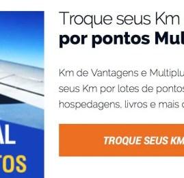 KM de Vantagens aumenta bonificação para quem transferir pontos para a Multiplus
