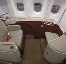 Primeira Classe da TAM no A330 – São Paulo para Nova York