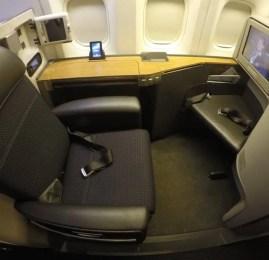 Primeira Classe da American Airlines no B777-300ER – São Paulo para Dallas