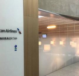 Sala VIP Admirals Club – Aeroporto de São Paulo (Guarulhos)