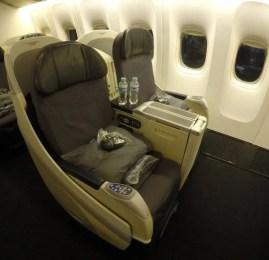 Classe Executiva da Aeromexico no B777-200ER – Cidade do México para São Paulo