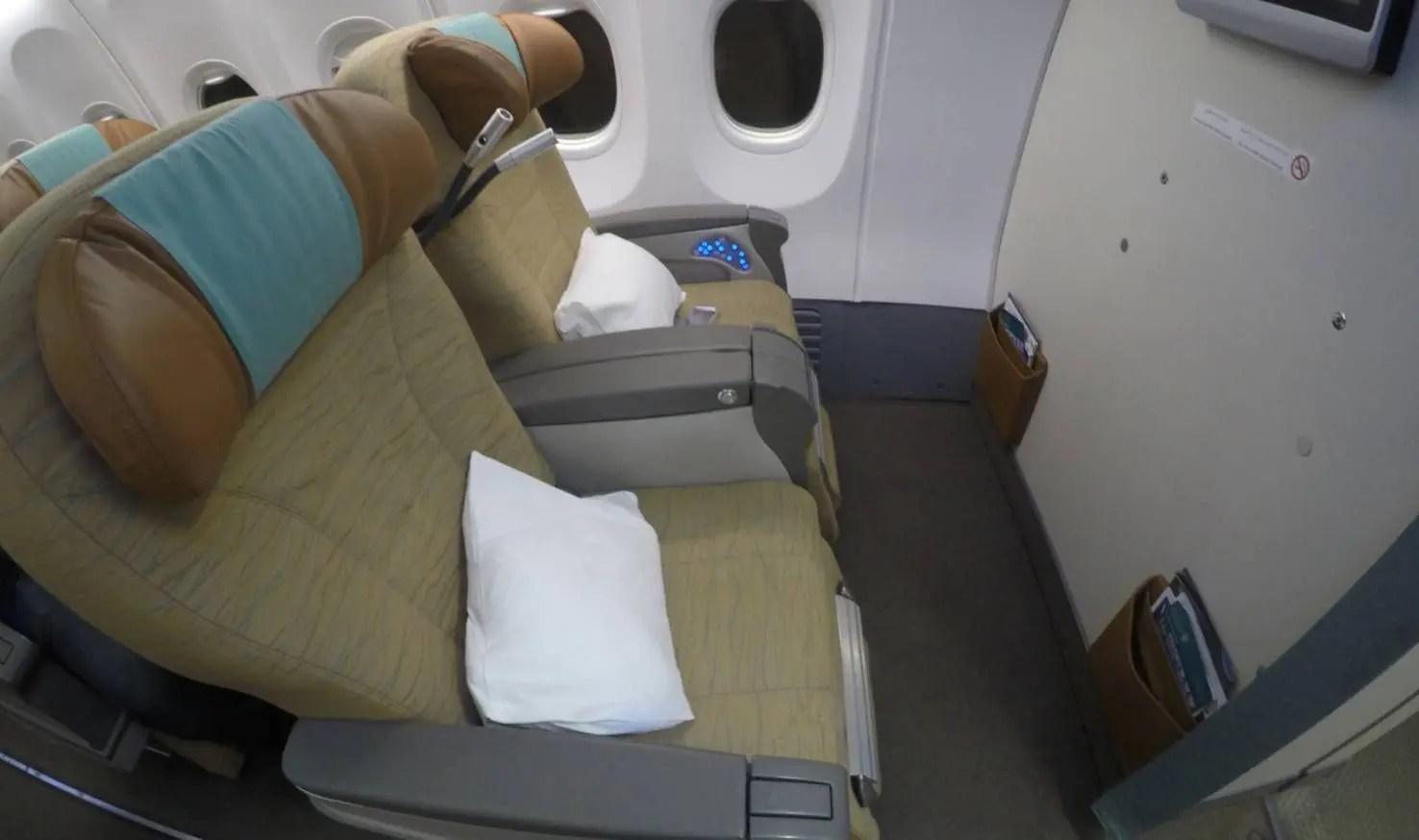 Oman Air B737-900 - Classe Executiva