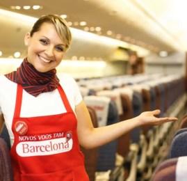 TAM terá vôo extra para Barcelona a partir de Abril