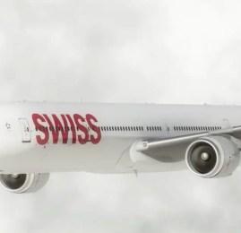 Novo Boeing 777 da SWISS vai oferecer internet a bordo e roaming para celular