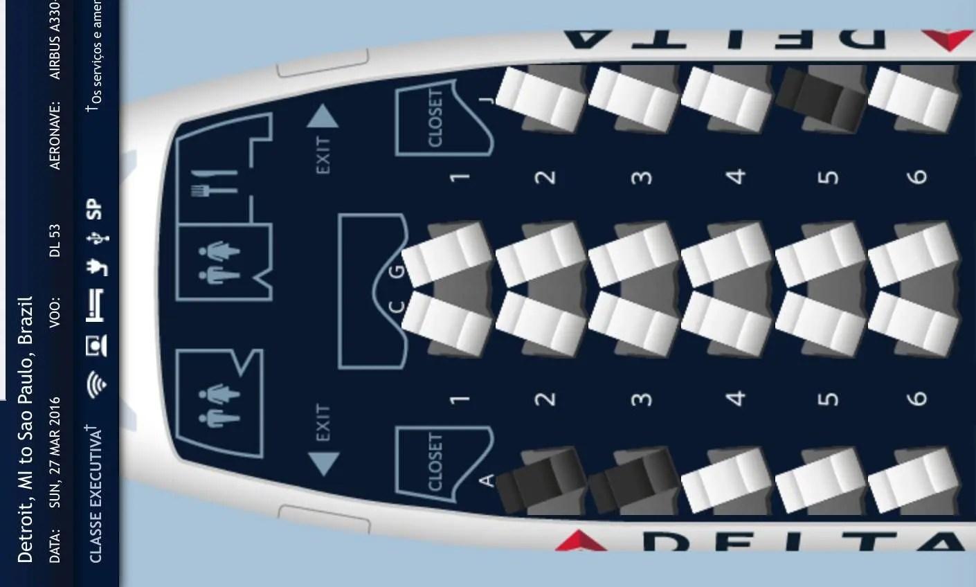 Delta vai operar o moderno a na rota detroit são paulo