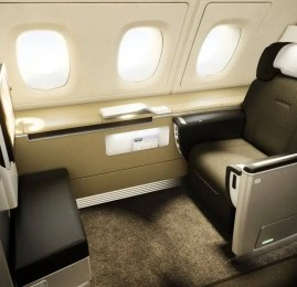 Voe na Primeira Classe da Lufthansa, Qatar, Qantas ou British por R$1.820,00
