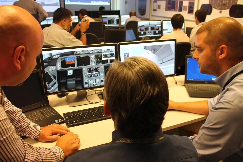 Simulador para Tecnicos de Mantenimien to de 787 - LATAM Airlines Group 2