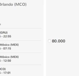 Clientes Smiles já podem resgatar passagem na Aeromexico