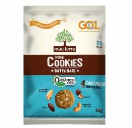 GOL inclui Cookie da Mãe Terra no serviço de bordo gratuito dos voos nacionais
