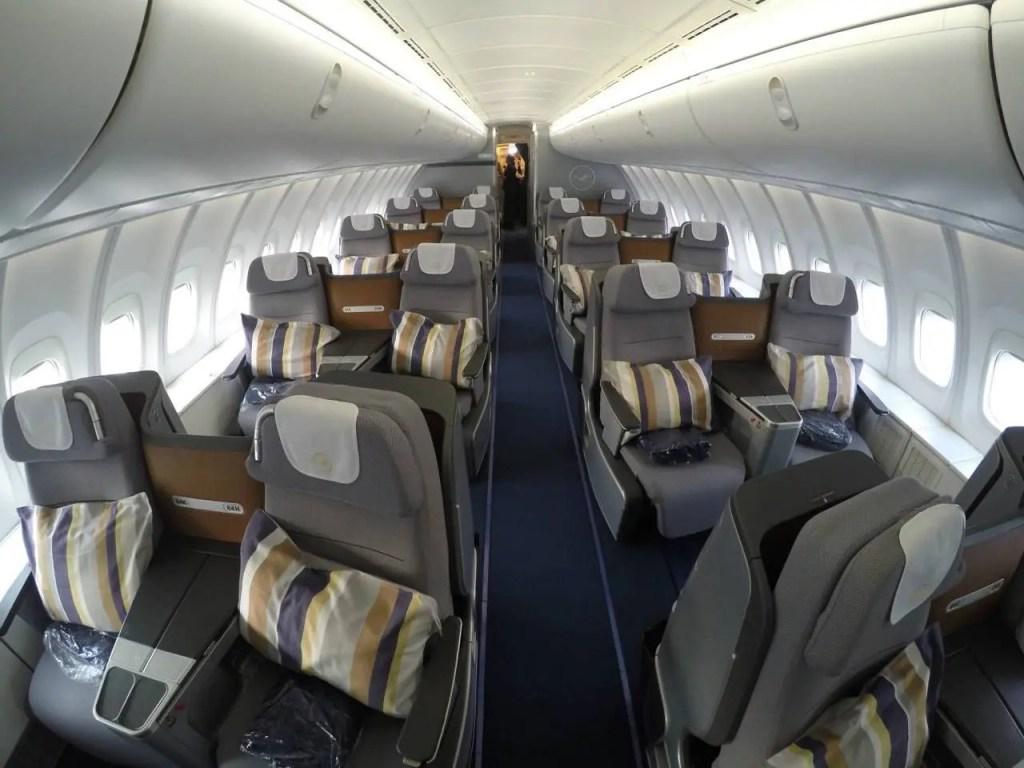 Lufthansa vai voltar a operar com o b747 400 sem primeira for Migliori cabine business class 2017