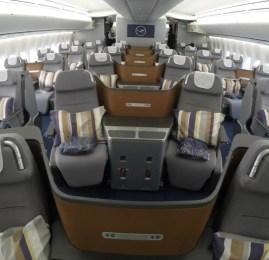 Classe Executiva da Lufthansa no B747-8i – São Paulo p/ Frankfurt