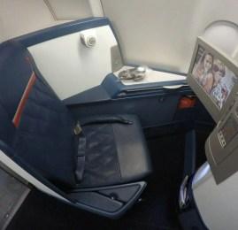 Classe Executiva da Delta no A330 – Atlanta para São Paulo