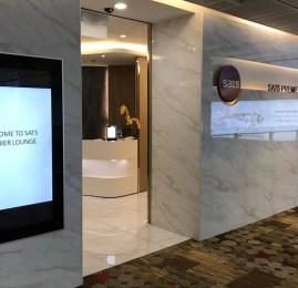 Sala VIP Sats Premier Lounge – Aeroporto de Cingapura (SIN)