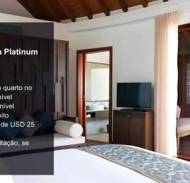 Portadores do VISA Platinum e Infinite tem diárias cortesias em diversos hotéis pelo mundo