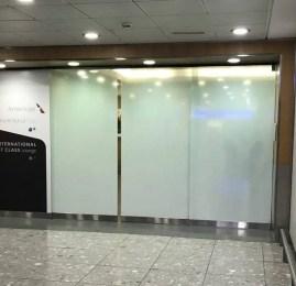 Sala VIP Admirals Club – Aeroporto de Londres (LHR) T3