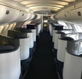 Classe Executiva da Delta no B747-400 – Detroit para Seoul