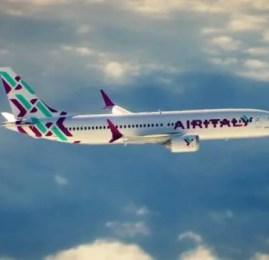 A Companhia aérea Meridiana é relançada como Air Italy!