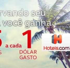 WOW! Ganhe 15 pontos AMIGO para cada dólar gasto no Hoteis.com!