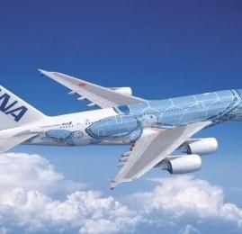 ANA revela detalhes do seu novo A380