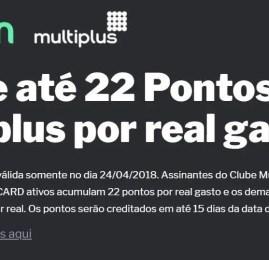 SOMENTE HOJE!!! Ganhe até 22 pontos Multiplus por REAL no site de Vinhos CAVE ON! (EXPIRADO)
