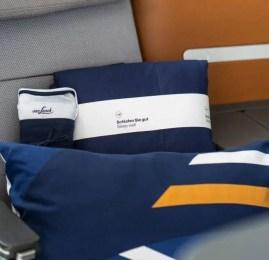 Lufthansa apresenta os novos itens que serão distribuídos em sua classe executiva