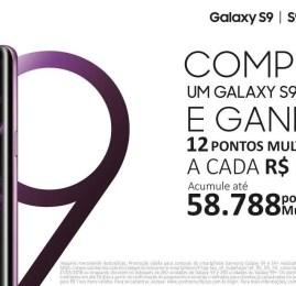 SOMENTE HOJE! Compre um Galaxy S9 e emita uma passagem para Miami!!!!
