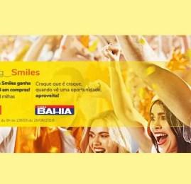 Smiles oferece até 8 pontos por real gasto na Casas Bahia!