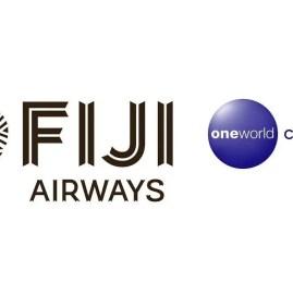 Detalhes da entrada da Fiji Airways na Oneworld como membro Connect!