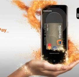 Itaú agora permite o uso do Samsung Pay!