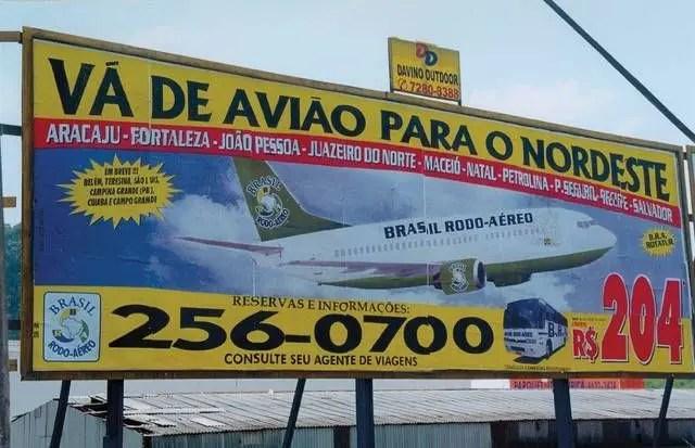 TBT - A história da BRA: um cometa na aviação brasileira