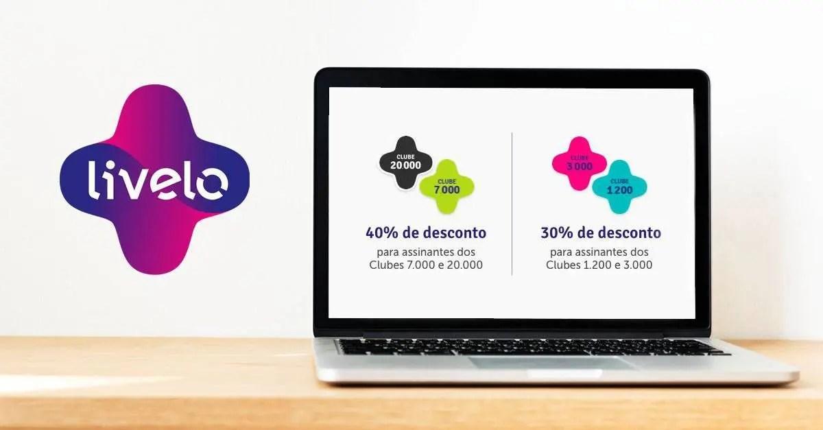Livelo oferece até 40% de desconto na compra de pontos (Clube Livelo ... ec3460f1c4dec