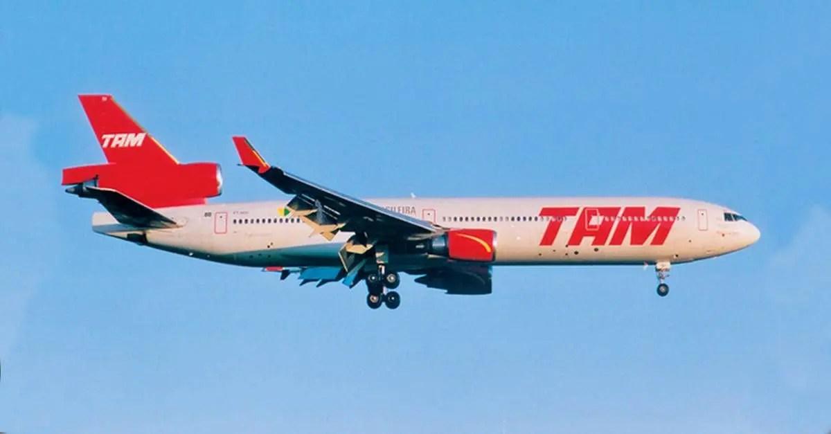 TBT - O MD-11 em céus brasileiros - Passageiro de Primeira