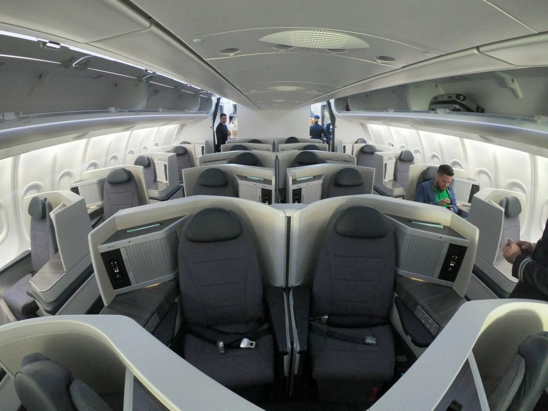 Executiva no A330neo da Azul