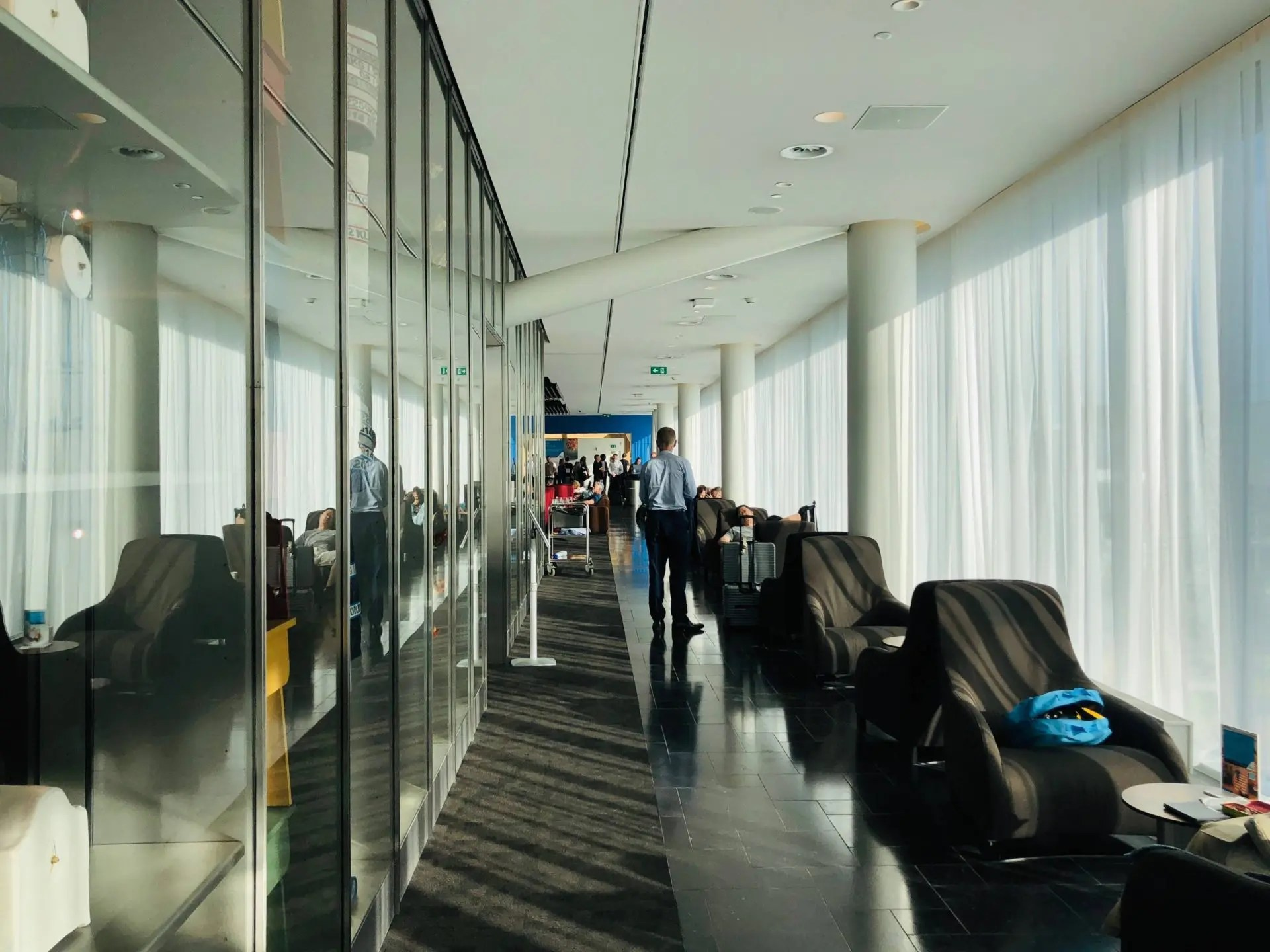 KLM Crown Lounge Smoking Room