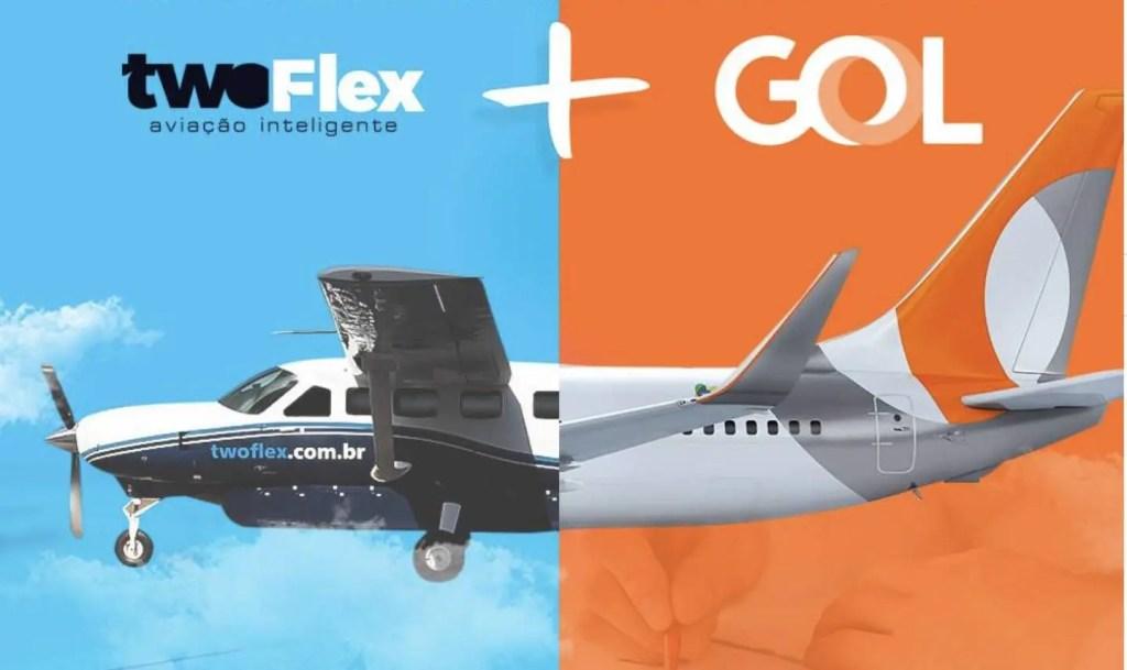 Resultado de imagen para Aliança Gol-TwoFlex Cessna Grand Caravan