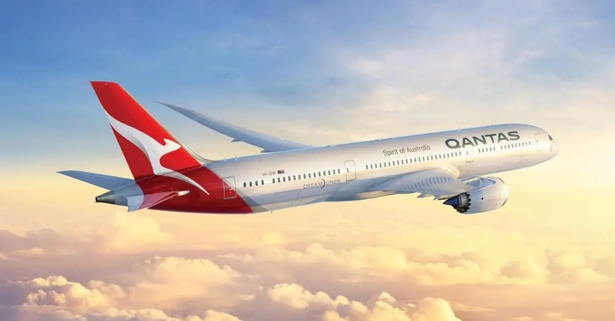 Qantas voos
