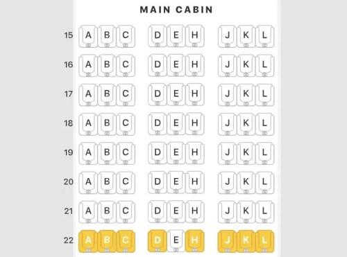 mapa de assentos 3-3-3