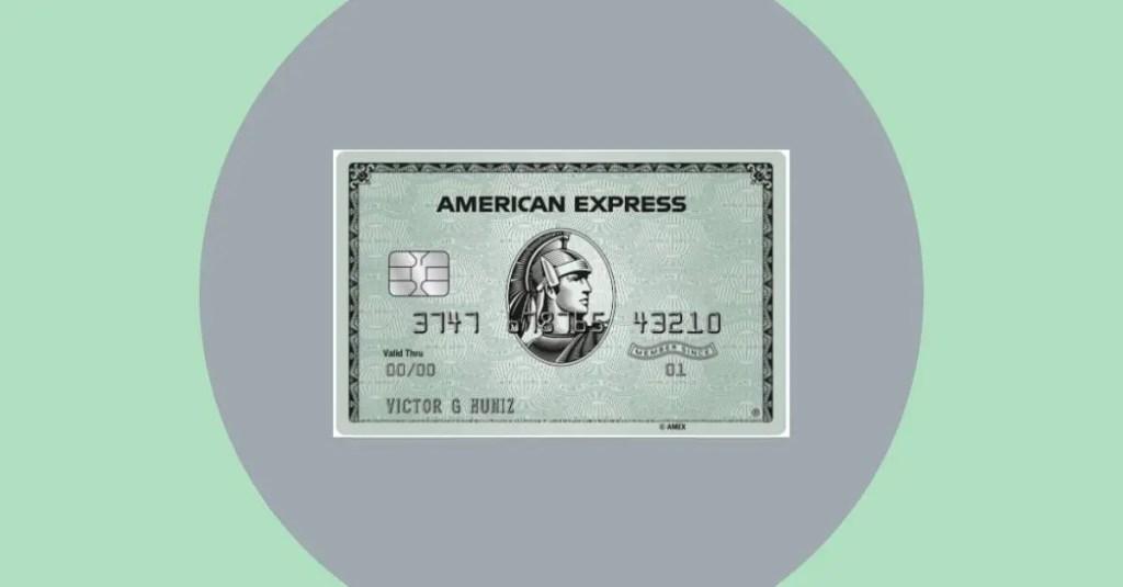 Cartão de crédito American Express Green