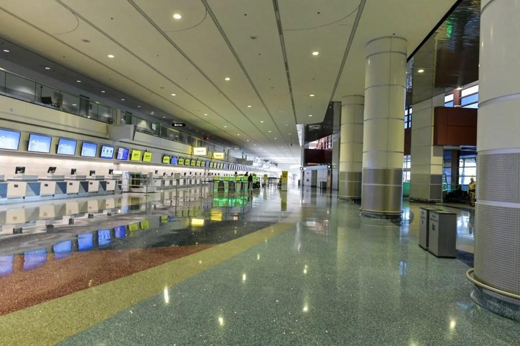 Aeroporto de Las Vegas coronavirus