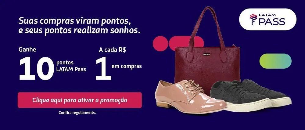LATAM Pass Shoestock 10 pontos