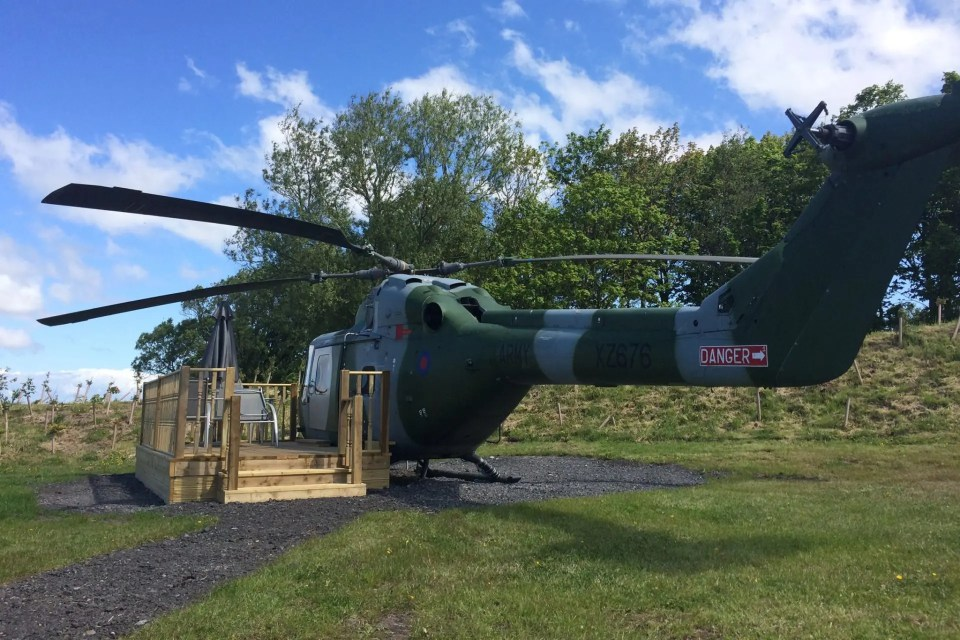 helicoptero airbnb