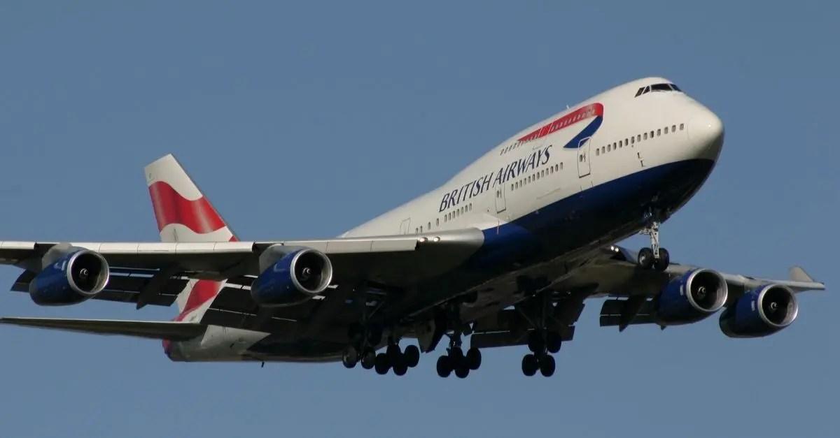 747 British Airways