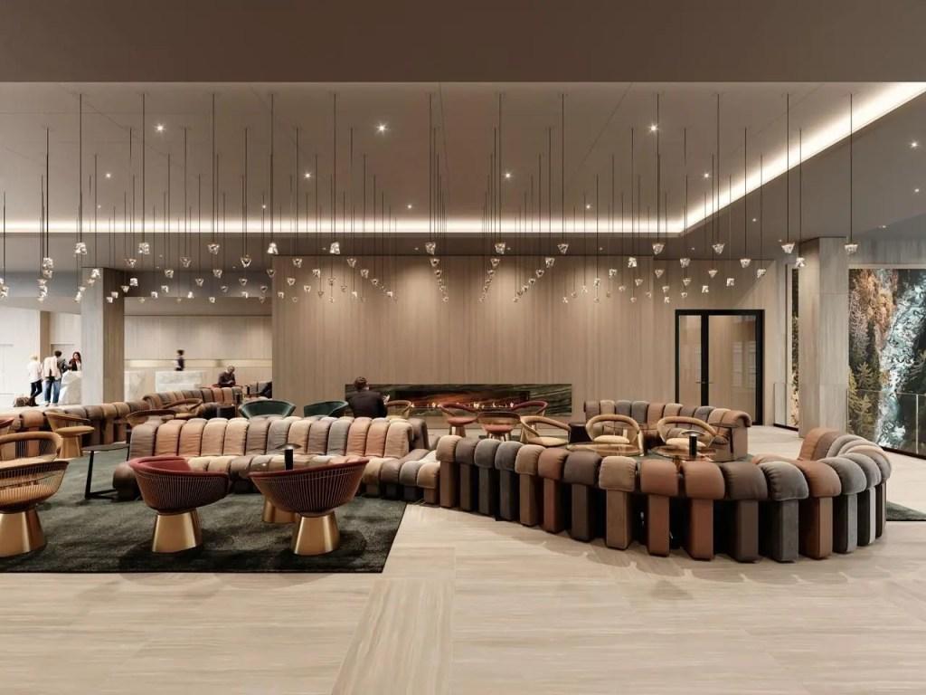 Hotel Hyatt Regency Lobby Zurique