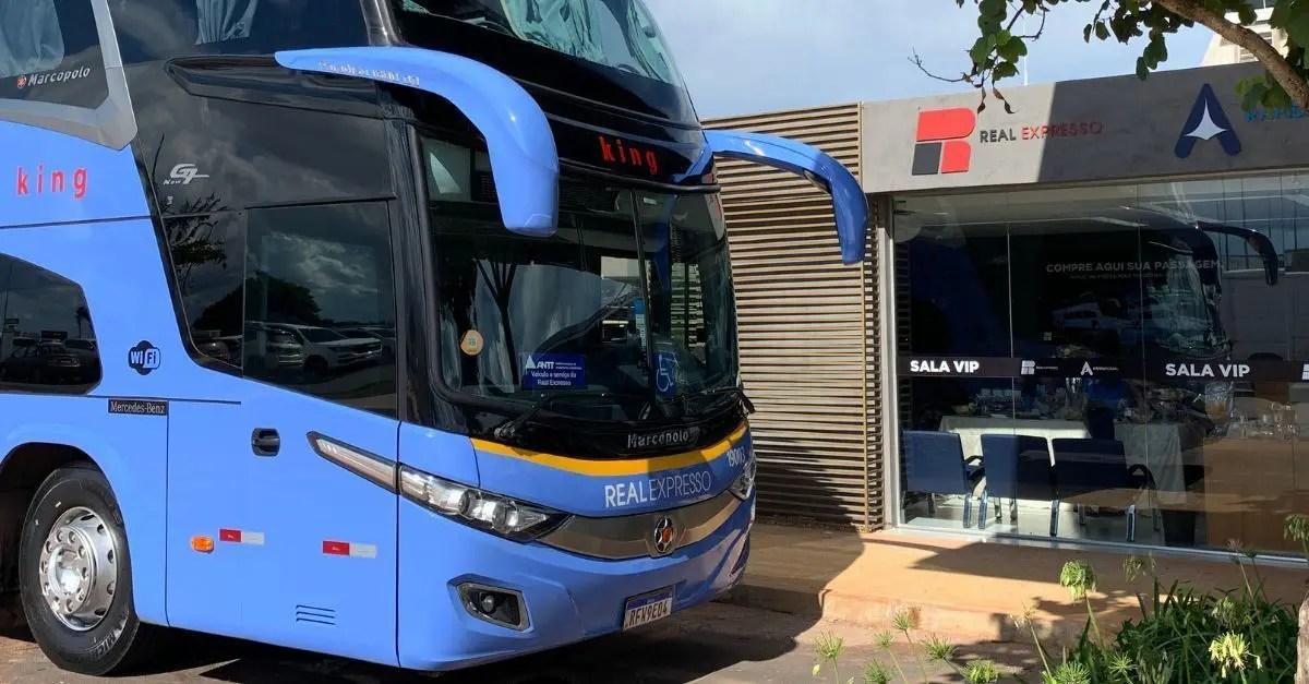 Serviços rodoviários no Aeroporto de Brasília