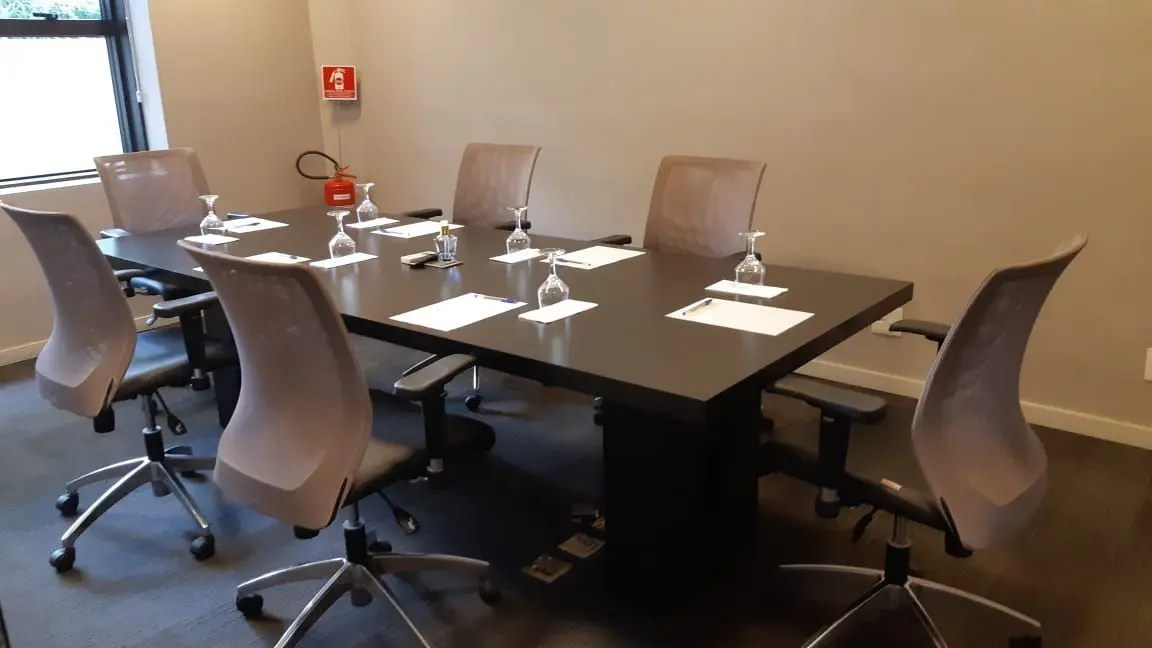 Grand Mercure sp Itaim Bibi sala de reunião